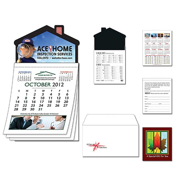 Magna-cal (tm) - Magnet - House R.e. Calendar-oct. 2012. Available To Ship 8/15/12 Through 11/14/12 Photo