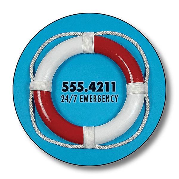 "1.5"" Circle Shape Magnet Outdoor Safe"