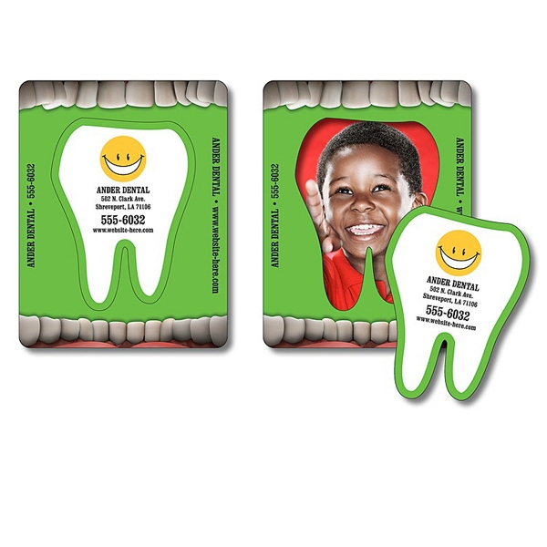 "Magnet - Picture Frame Tooth Punch (3.5"" X 4.5"") - 20 Mil Photo"