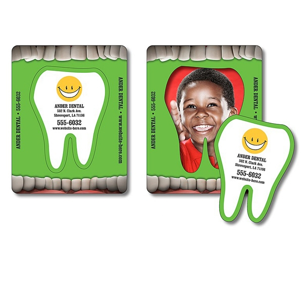 "Magnet - Picture Frame Tooth Punch (3.5"" X 4.5"") - 25 Mil Photo"