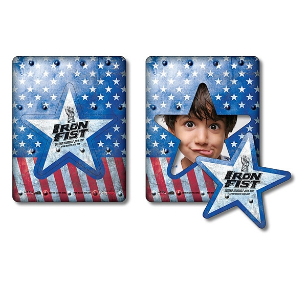 "Magnet - Picture Frame Star Punch 3.5"" X 4.5"" - 30 Mil Photo"