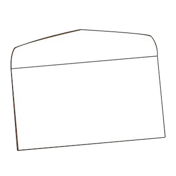 "Envelope - #7 Plain White 6.75"" X 3.75"" Photo"