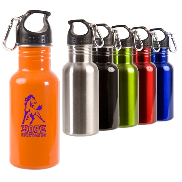 Adventure - Stainless 17 Oz. Bottle, Features Wide Mouth Opening, Leak Proof Photo