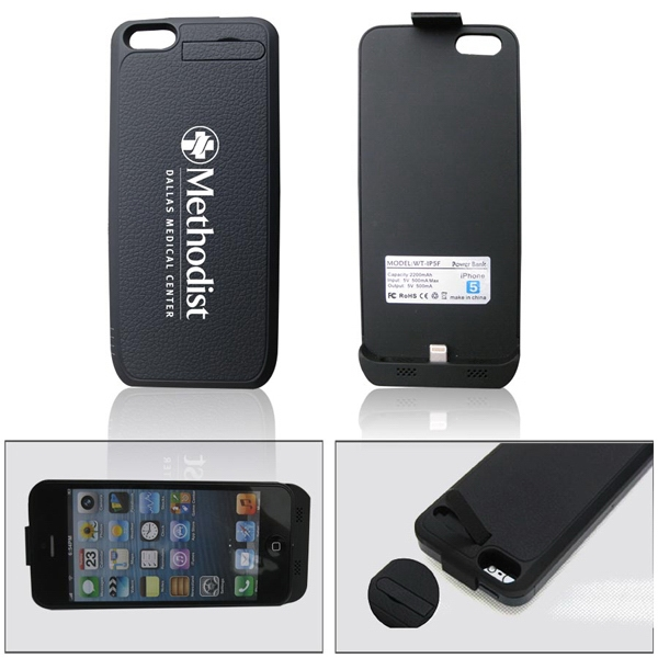 External Battery Charger With Protective Case For Iphone 5 Photo