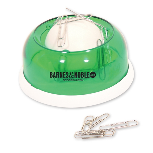 Green - Rolling Paper Clip Dispenser. Closeout Price. Available While Supplies Last Photo