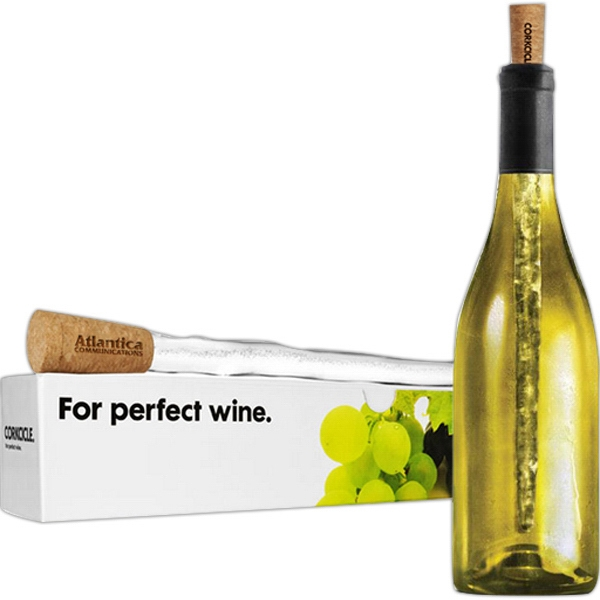 Corkcicle - Classic Cork Wine Bottle Stopper Photo