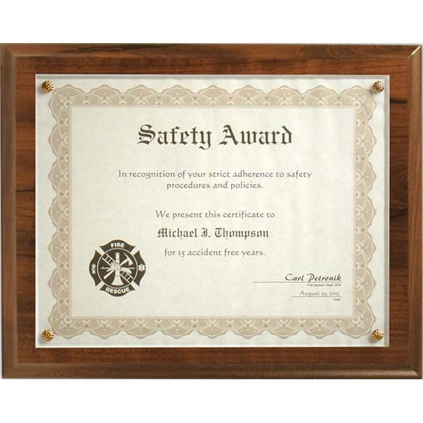 Budget Beater - Cherry Certificate Plaque Photo