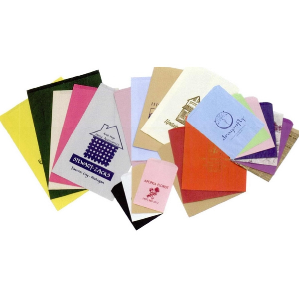 "Colors Paper Merchandise Bag With Ink Printing. 14"" X 3"" X 21"" Photo"