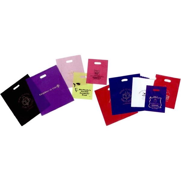 12x15-Tinted High Density Poly Merchandise Bag - HFS