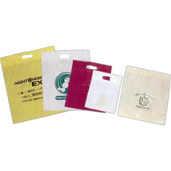 12x15-Colors Tinted Low Density Poly Merchandise Bag -Plain