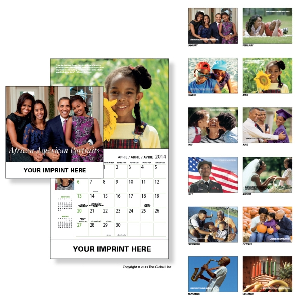 Econoline - Wall Calendar With Twelve Different Excerpts Of Everyday Modern Life Photo