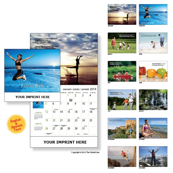 Econoline - Wall Calendar With Easy-to-digest Guide For Smart Living Photo