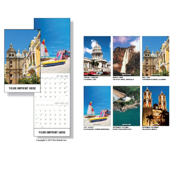 Super-econo - Wall Calendar With Latin America Scenes Photo