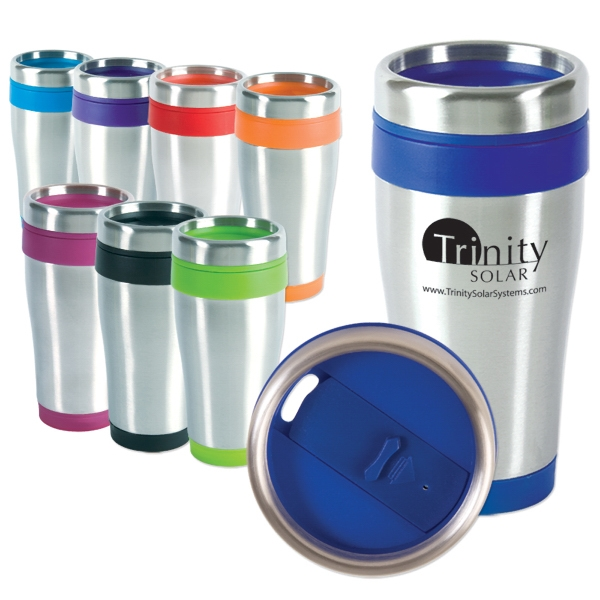 Blue Monday - 16 Oz Travel Tumbler Photo