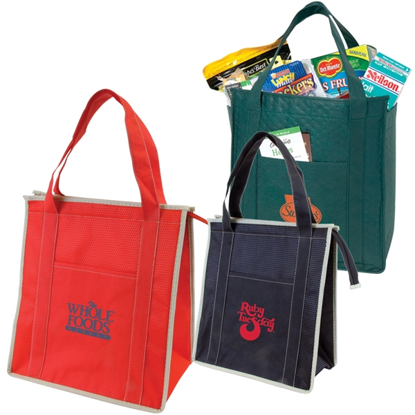 Non-woven Insulated Zipper Tote Photo