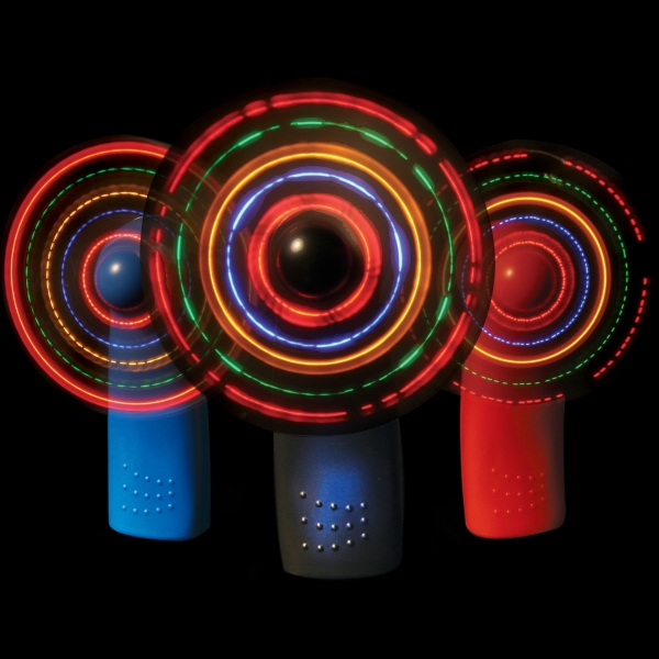 36-Pattern LED Mini Fans