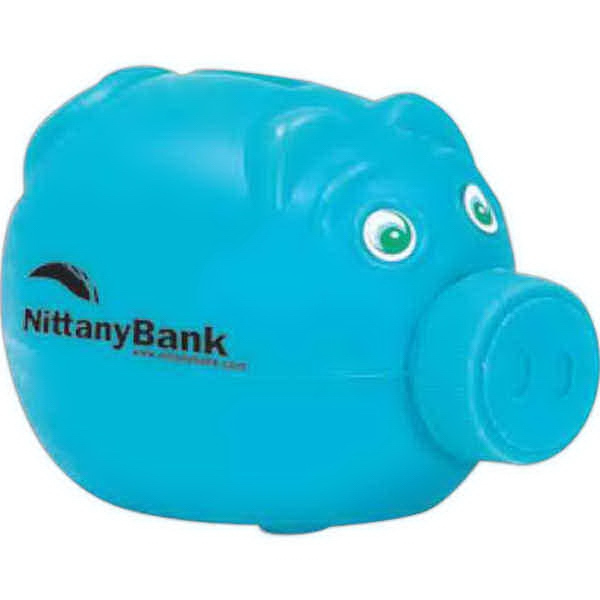 "Piggy Savings Bank, 4 1/2""; Nose Unscrews To Retrieve Money Photo"