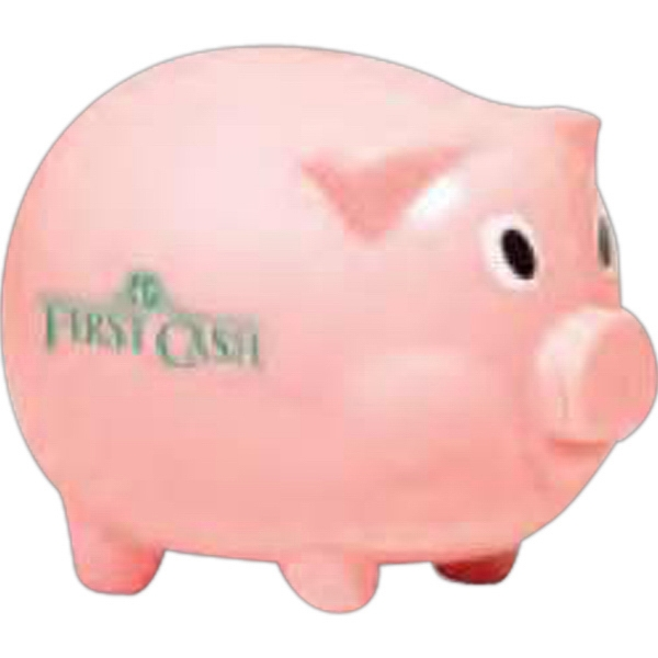 "Smash It - Pink - Piggy Bank, 3"" Photo"