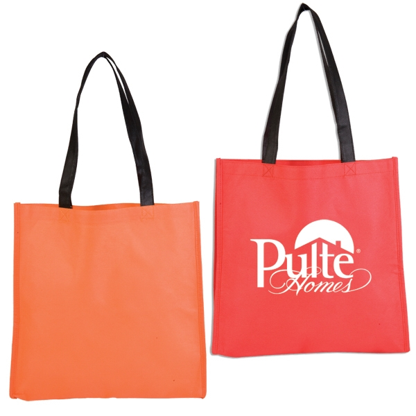 Durable Non-woven, Sleek Open Tote Bag In A Variety Of Colors Photo