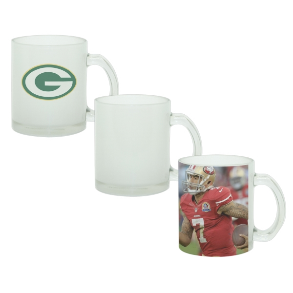 Offering Full-color Decoration, This Glass Mug Is Great For Subtle Logo Reproduction Photo