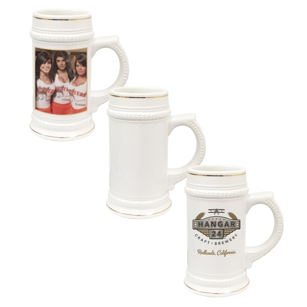 This Promo Item Is Fit For A King! Define Your Brand With The New Photo Beer Stein Photo