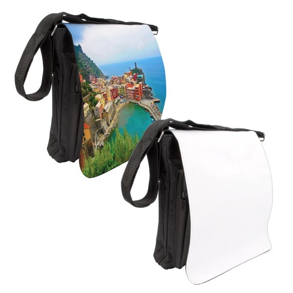 Medium Photo Messenger Bag - Black Photo