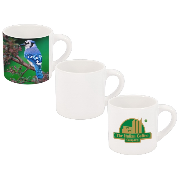 Espresso - Sip Coffee In Style With This European-style Sublimation 6 Oz. Mug! Photo