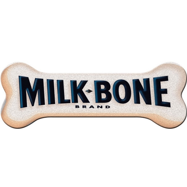 Dog Bone Emery Board (full Color Imprint Image Showing) Photo