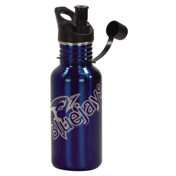 17 oz Custom Laser Engraved Water Bottles