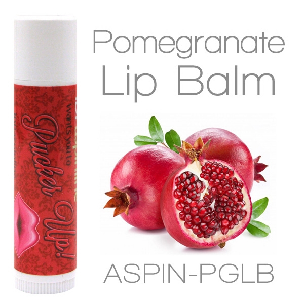 Pomegranate Lip Balm Made With Natural And Organic Ingredients. Contains Spf 15 Photo