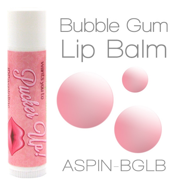 Bubblegum Lip Balm Made With Natural And Organic Ingredients. Contains Spf 15 Photo