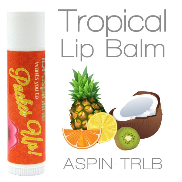 Tropical Lip Balm Made With Natural And Organic Ingredients. Contains Spf 15 Photo