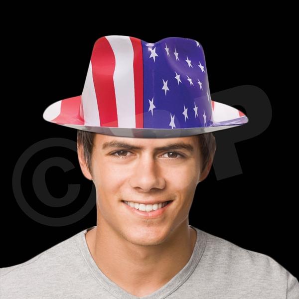 Patriotic Gangster Fedora