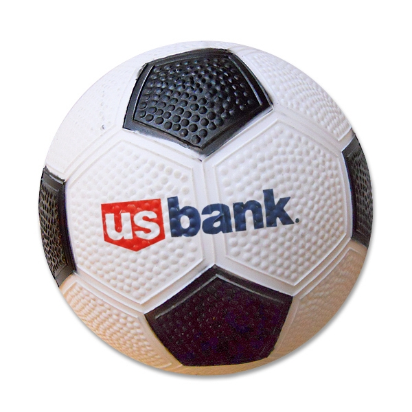 "6"" Soft Vinyl Rubber Soccer Ball Photo"