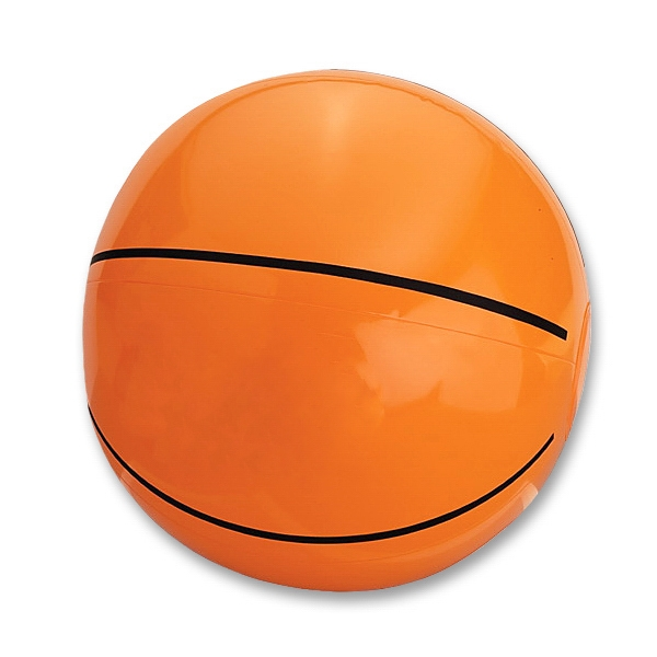 Basketball - Sport Ball Beach Ball. Measures Inflated, Half The Circumference. Phthalate Safe Photo