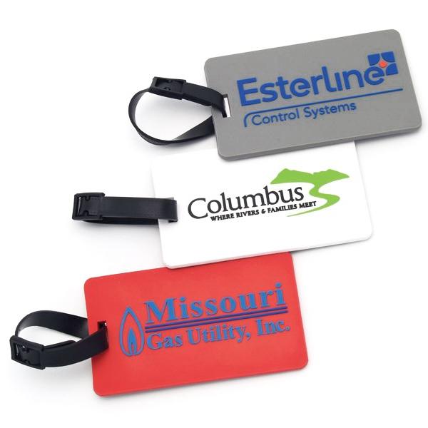 2D design baggage tag