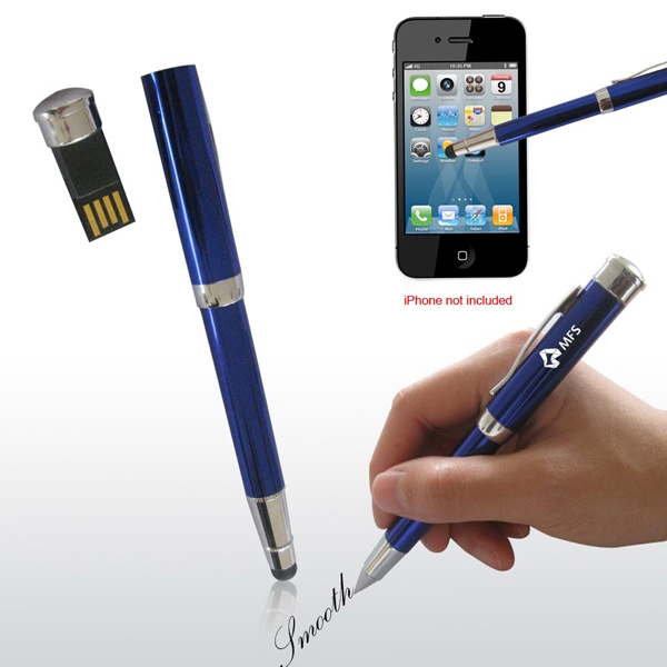 2gb - 3 In 1 Stylus Usb Pen Drive Ii Photo