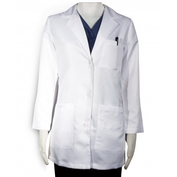 "Sa346cs Cs Women's Lab Coat - White - 32"" Photo"