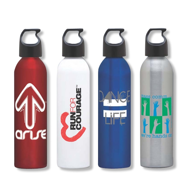 Aluminum Water Bottle, 24 Oz. Made In The Usa Photo