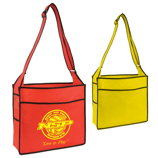 Durable, Spacious Open Trade Show Tote Bag. Closeout Photo