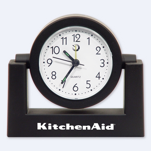 Black - Alarm Clock. Closeout Price! Available While Supplies Last! Photo