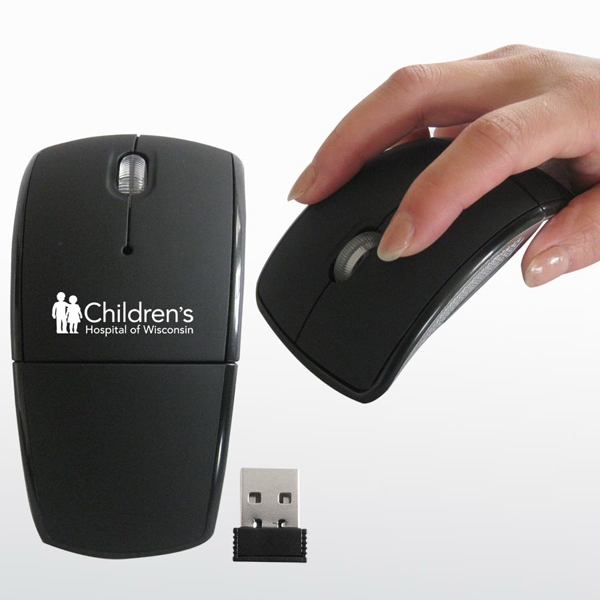 Usb Wireless Folding Mouse Photo