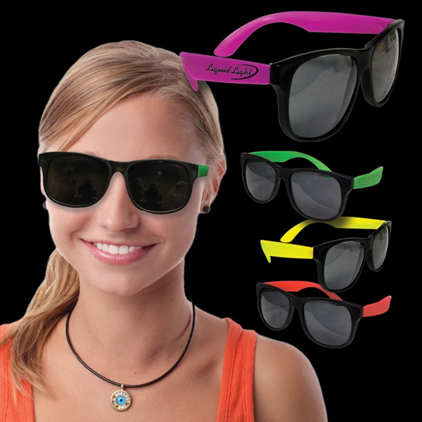 Neon Sunglasses Photo