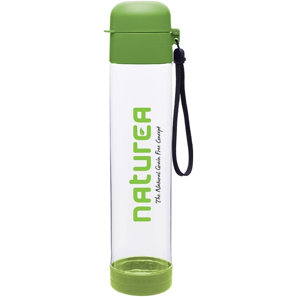 H2go (r) Hybrid - Apple - 25 Oz Single Wall (bpa Free) Eastman Tritan (tm) Copolyester Bottle With Strap Photo