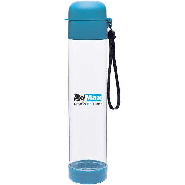 H2go (r) Hybrid - Aqua - 25 Oz Single Wall (bpa Free) Eastman Tritan (tm) Copolyester Bottle With Strap Photo