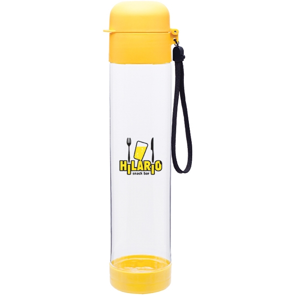 H2go (r) Hybrid - Pineapple - 25 Oz Single Wall (bpa Free) Eastman Tritan (tm) Copolyester Bottle With Strap Photo
