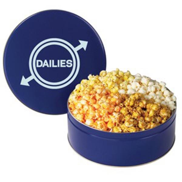 4 Way Popcorn Tin