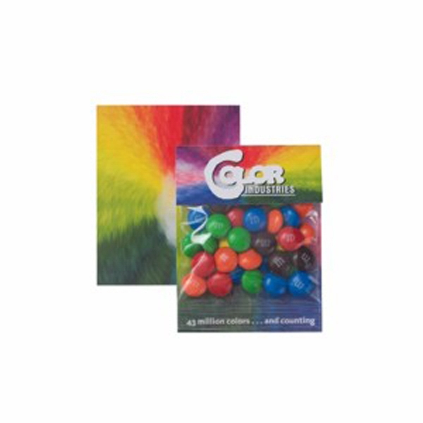 "M&m's (r) - Candy Coated Chocolate Candies In A Small Billboard Header Bag. 3""w X 4""h Photo"