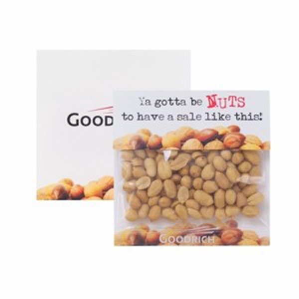 Large Billboard Header Bag with Dry Roasted Peanuts