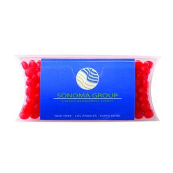 Red Hots (r) - Cinnamon Flavored Candies In A Pillow Shaped Container With Business Card Slot Photo